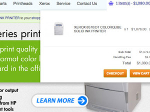 OpenCart Website for Printer Pro Solutions
