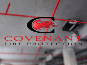 Covenant Fire Protection Identity, Web & Graphic Management