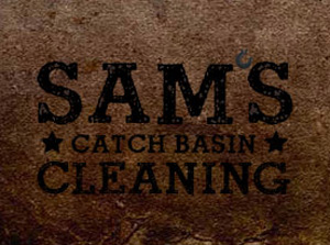 Sam's Catch Basin Cleaning Website & Logo